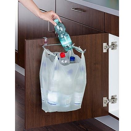 Wenko Soporte para puerta para bolsa de basura: Amazon.es: Hogar