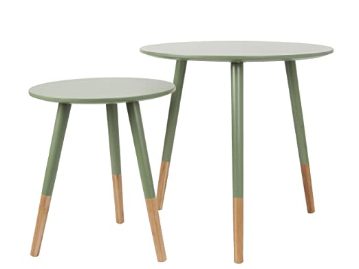 Leitmotiv Graceful MDF con Set de Mesa diseño bambú Verde Jungle ...