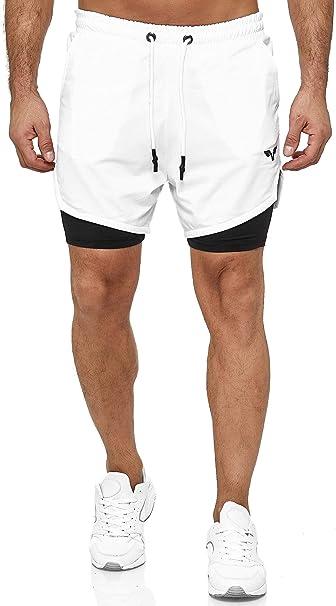 Herren Kurzhose Sportshorts Fitness Laufshorts Jogging Gym Traininghose Bermudas