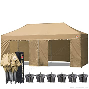 ?18+ colors?Abccanopy Deluxe 10x20 Pop up Canopy Outdoor Party Tent Commercial Gazebo  sc 1 st  Amazon.com & Amazon.com : ?18+ colors?Abccanopy Deluxe 10x20 Pop up Canopy ...