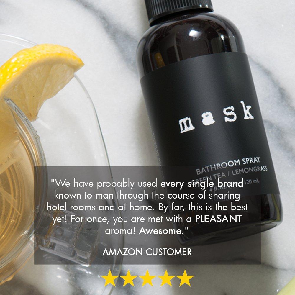 Amazon.com: Premium Green Tea U0026 Lemongrass Bathroom Spray 4oz, Before You  Go Toilet Deodorizer, Best Value Air Freshener Poo Poop Spray, Perfect For  Travel, ...