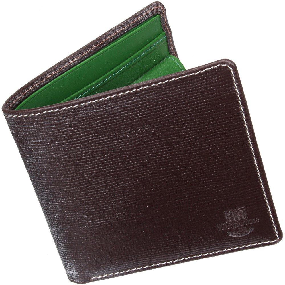 ホワイトハウスコックス(Whitehouse Cox) HolidayLine S7532 二つ折り財布 【正規販売店】 B01M5J8WZ1 ハバナ/ケリーグリーン ハバナ/ケリーグリーン