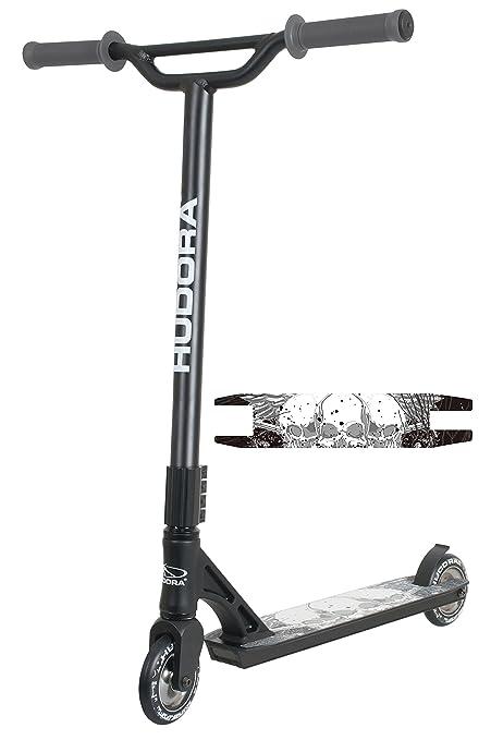 Hodura Hudora - Patinete XY de 12, color negro: Amazon.es ...