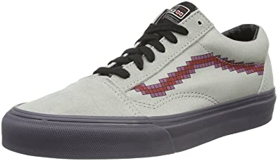 Vans Old Skool Nintendo Console Canvas Skate Trainers Shoes-8 ... bd2d0536570e6