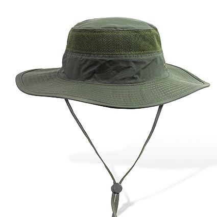 Amazon.com   APAS Outdoor Large Brim Bucket Hat Quick-Dry ... eecc85aa37e