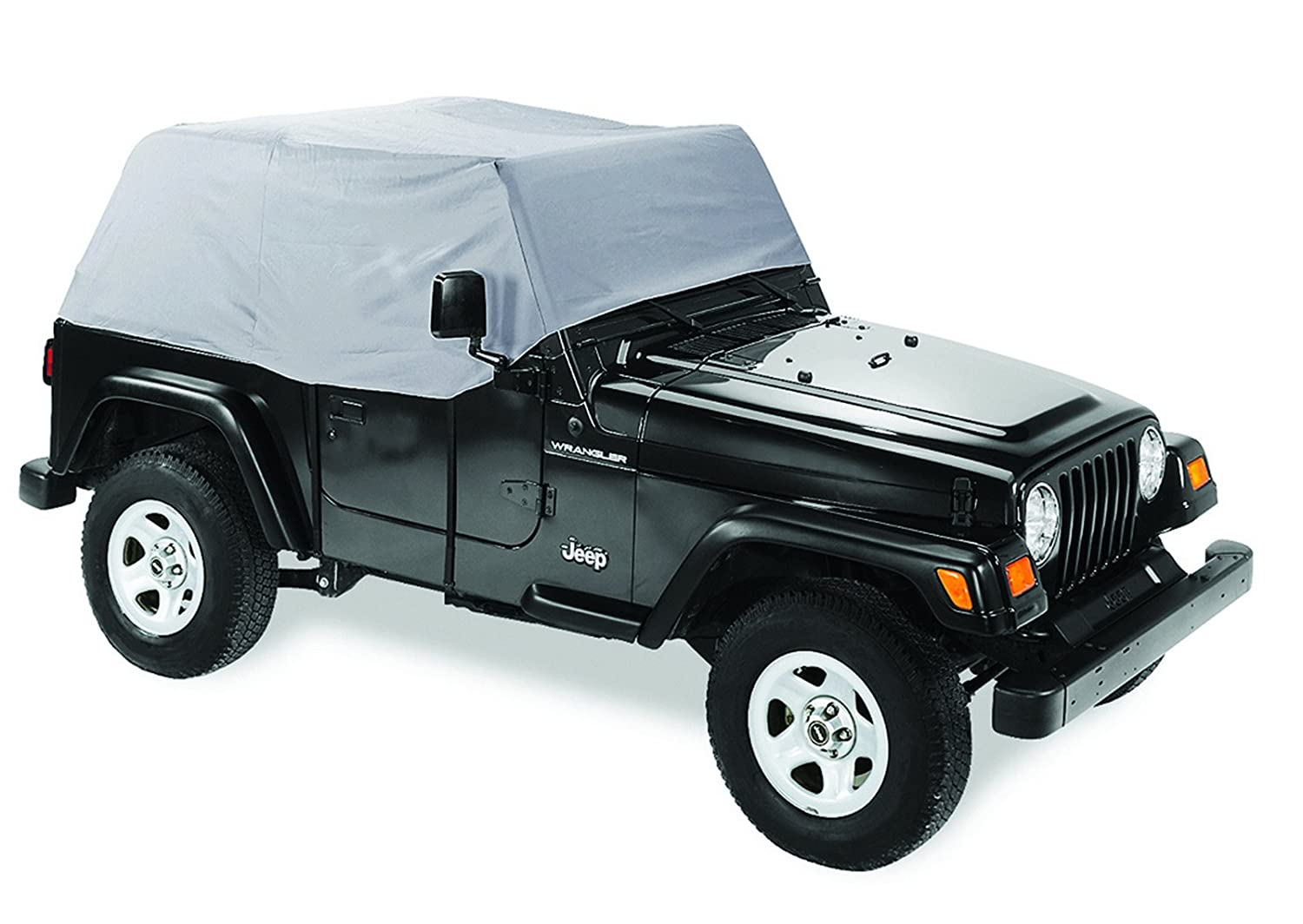 Pavement Ends by Bestop 41728-09 Charcoal Canopy Cover for 1992-1995 Wrangler YJ