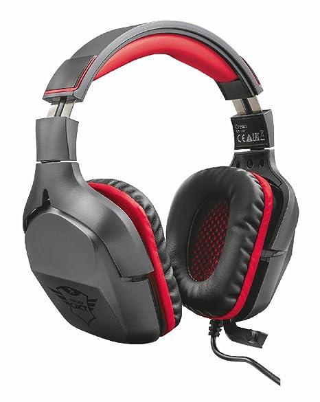 Trust Gaming GXT 344 Creon - Auriculares Gaming para PC, PS4 y Xbox con micrófono