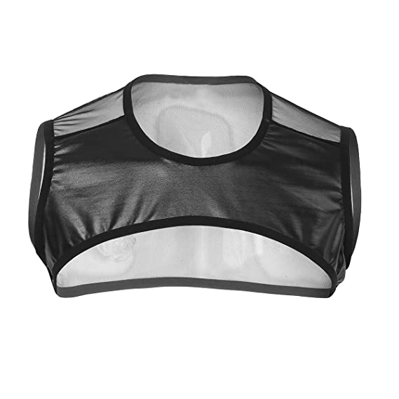 e8eeb53fa0ff iiniim Herren Tank Top Unterhemd Netzhemd Ärmellos Transparent Netzshirt  Party Clubwear M-XL  Amazon.de  Bekleidung