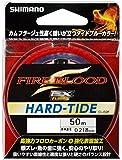 シマノ(SHIMANO) ハリス ファイアブラッド EX ハードタイド フロロカーボン 50m タイドブルー CL-I32P