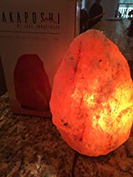 Salt Lamps Yes Or No : Amazon.com: Rakaposhi Natural Himalayan Salt Rock Lamp w/ 6 UL Listed Dimmer Switch - 8-11 inch ...