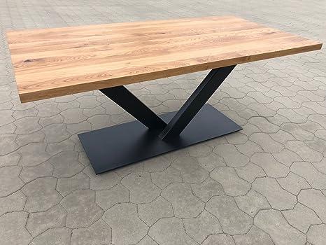 Tavoli Da Pranzo In Legno Massello : Holzwerk tavolo da pranzo in legno massello di quercia 220 x 100 cm
