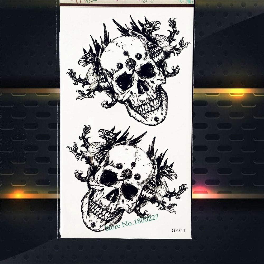 Yyoutop Letra de Tinta Negra Fresca Tatuaje Mantenga la Calma ...