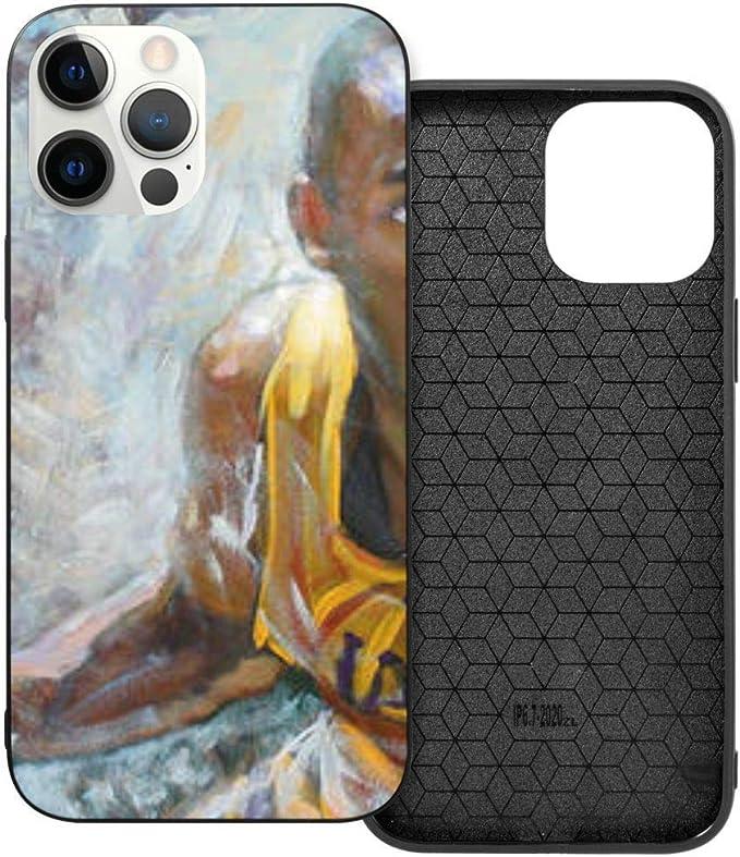 Custodia per iPhone 12 Pro Max, Nba Kb Black Mamb Hybrid PC TPU ...