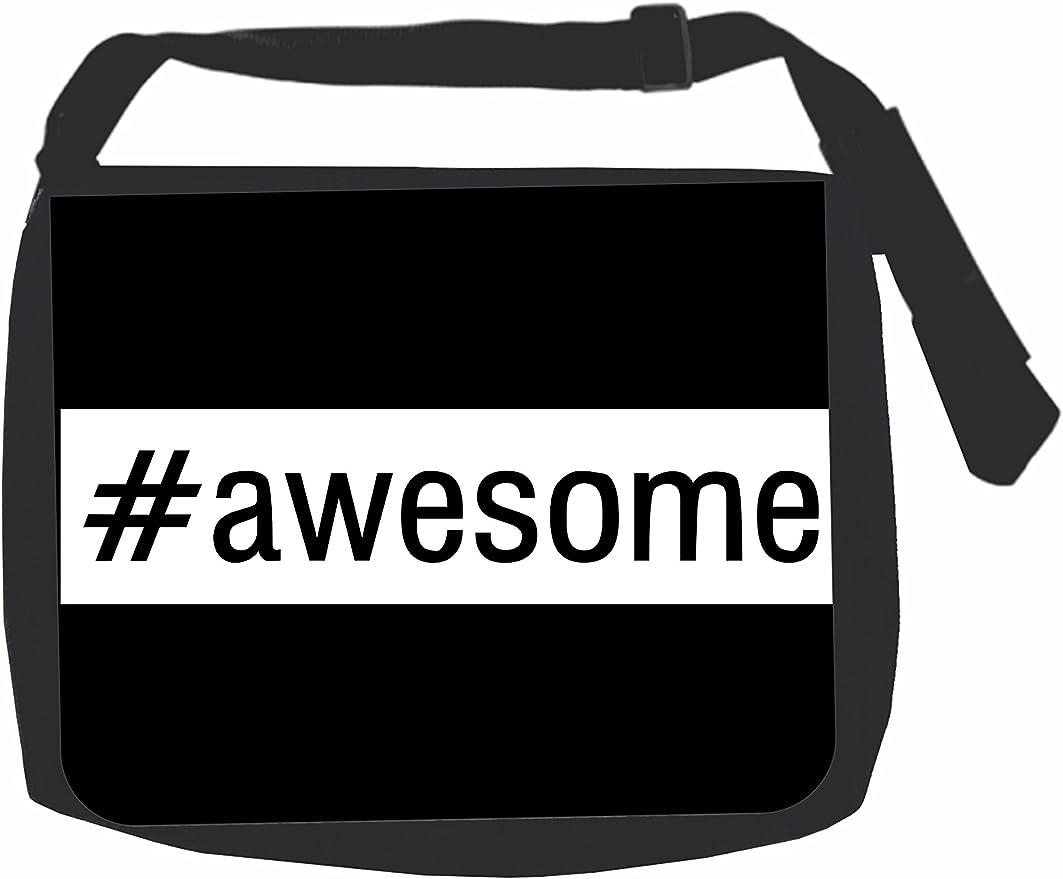 #Awesome Black School Backpack /& Pencil Bag Set Hashtag