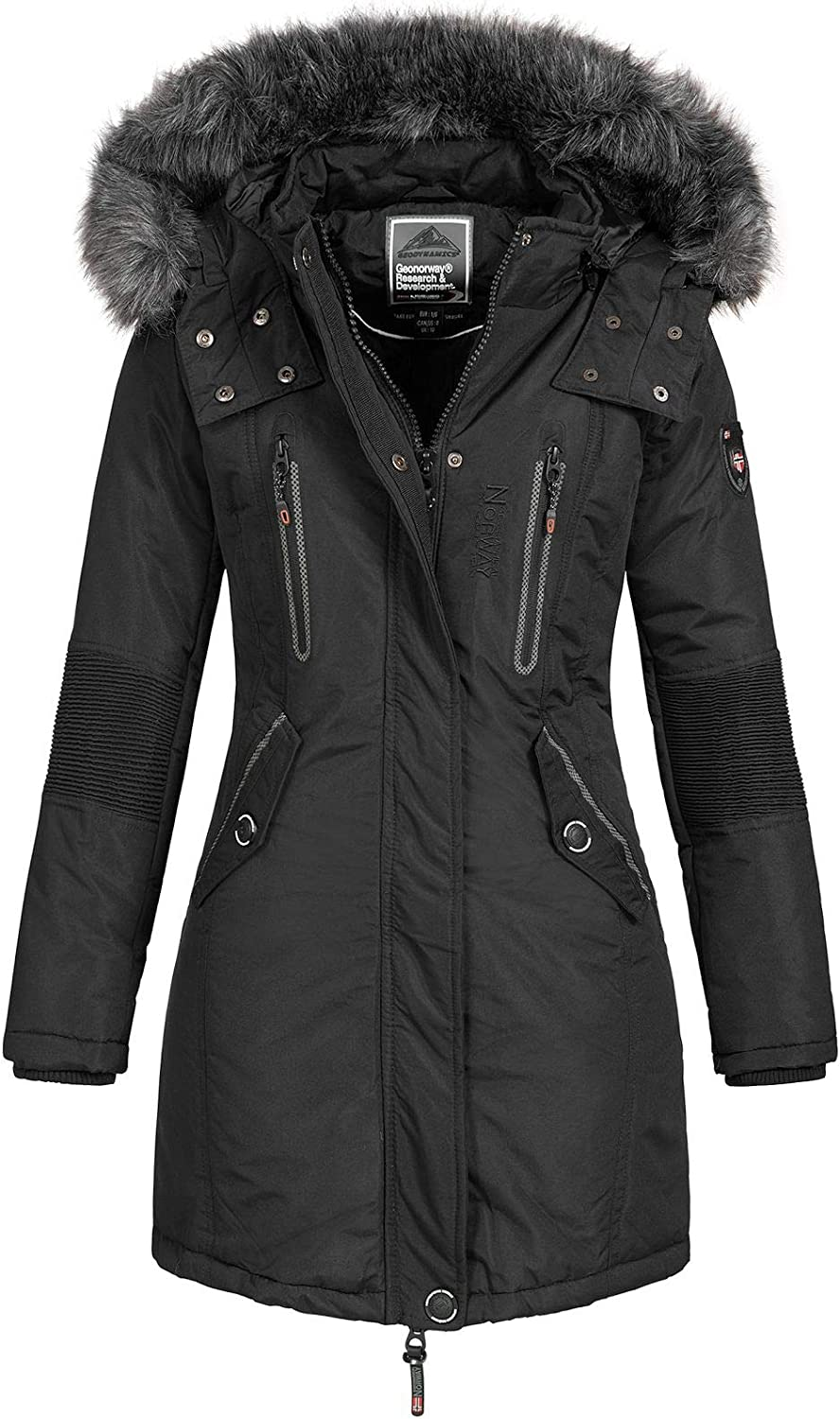 Cappotto Geographical Norway Donna