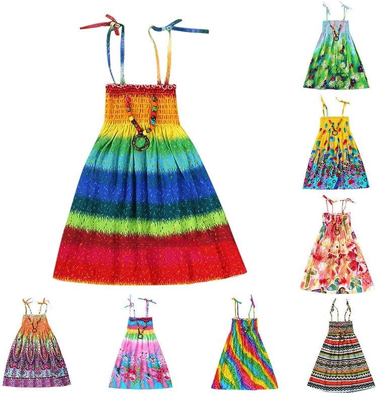 Vestidos Niñas Fiesta Casual Ropa Bebe Niña Verano para Bebés ...