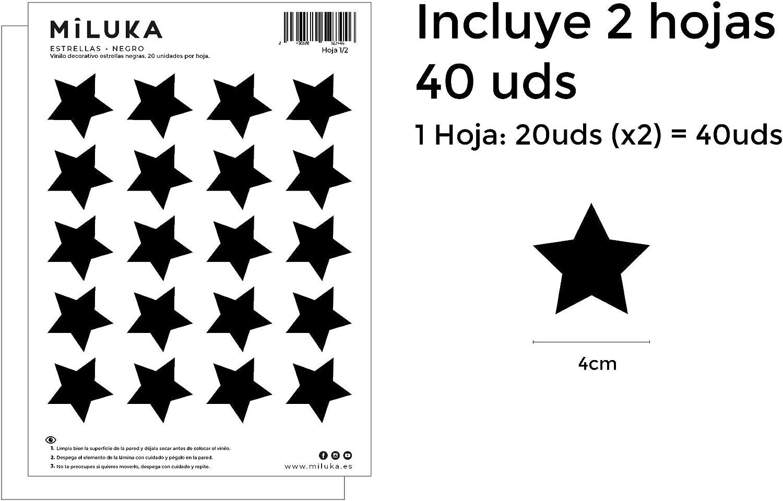 Plusieurs Couleurs 40 unit/és /Étoiles Stickers Muraux Nordiques pour Chambre Enfants Vert eau Stickers Mural pour D/écoration