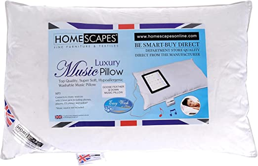 Super Microfibre Washable Music Pillow