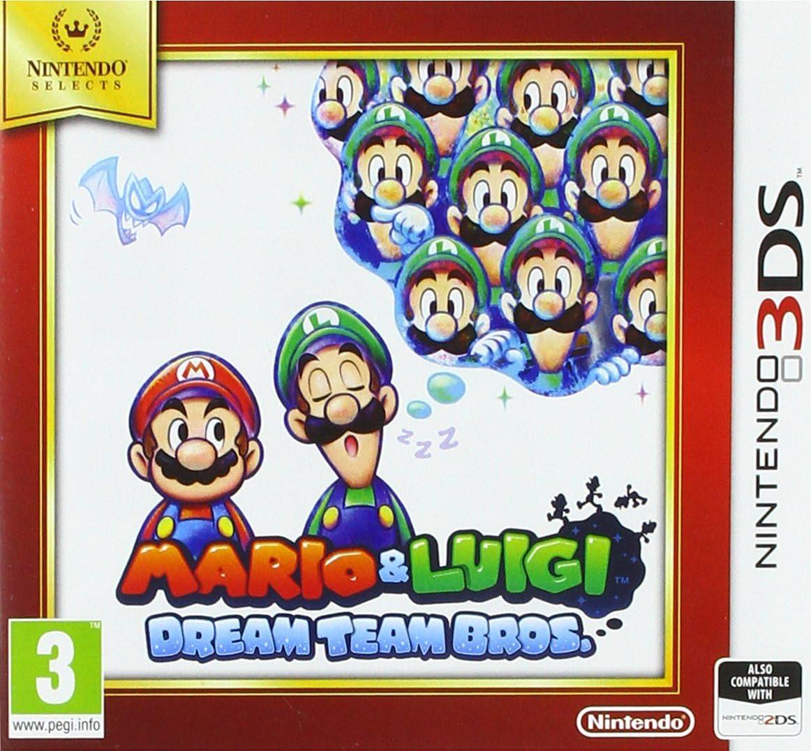Amazon Com Nintendo Selects Mario And Luigi Dream Team