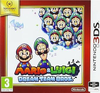 Amazon Com Nintendo Selects Mario And Luigi Dream Team Bros