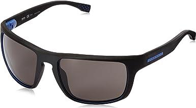 BOSS 0800/S 6C 859 Gafas de sol, Negro (Soft Black/Grey Pz Oleopho), 58 para Hombre