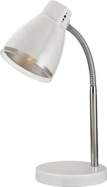 Light Accents Metal Desk Lamp - Table Lamp - Reading Light