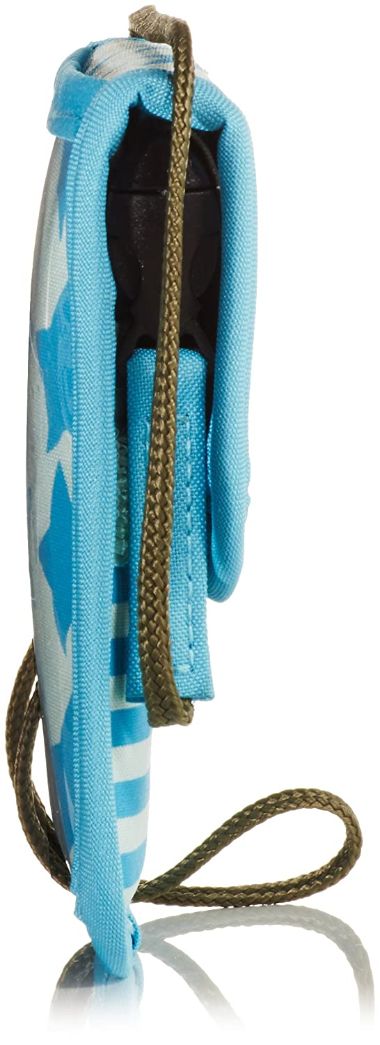 Starlight Olive Lassig Kids Neck Pouch Card and Money Stash Holder with Security Cord