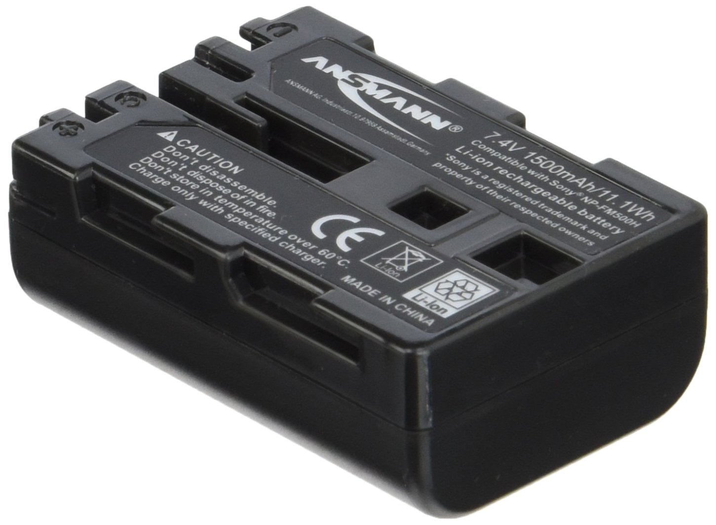 ANSMANN Akkupack A-Son NP FM 500 H Ersatz für Kamera Sony Alpha SLT… 5044503