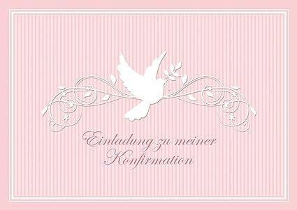 Tarjeta De Confirmación Invitación A Mi Confirmación Hermosa