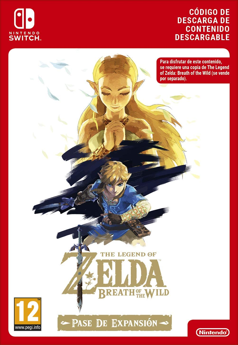 Zelda: Breath of the Wild Expansion Pass DLC | Nintendo Switch - Código de descarga: Amazon.es: Videojuegos
