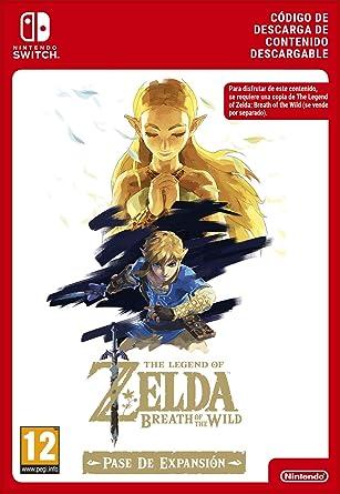 Zelda: Breath of the Wild Expansion Pass DLC | Nintendo Switch - Código de descarga: Amazon.es: Videojuegos