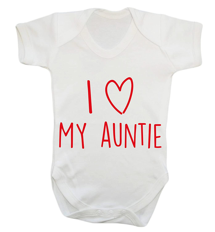Flox Creative I Love My Auntie Baby Vest Bodysuit Babygrow Amazon