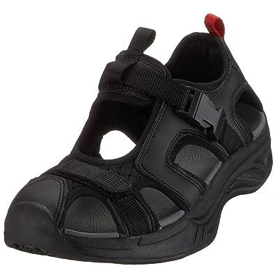 Chung Shi Comfort Step Sandale Trek schwarz 9101055-3,0, Unisex schwarz, (schwarz), EU 35
