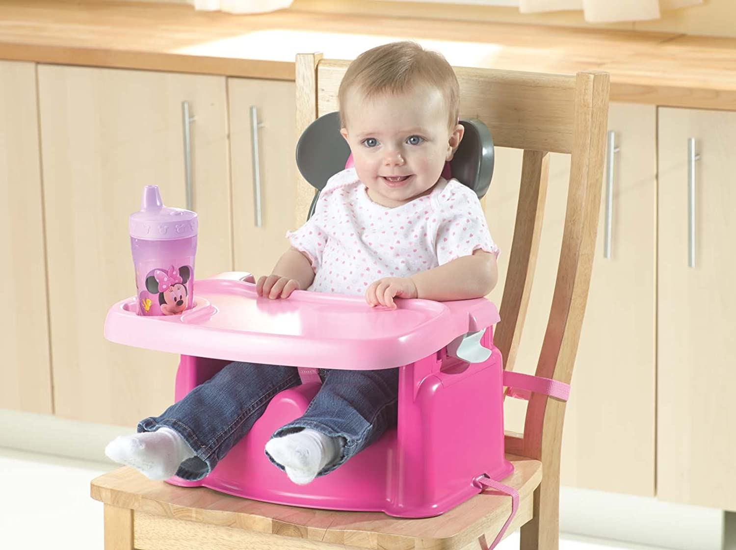 Amazon.com : The First Years Disney Booster Seat, Minnie Mouse : Chair  Booster Seats : Baby