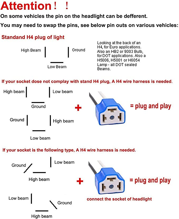 Headlight H4 Wiring Diagram from images-na.ssl-images-amazon.com
