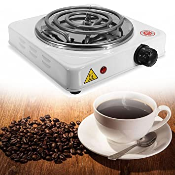 LaDicha 1000W Estufa Eléctrica Placa Caliente Quemador Viajes Cocina Aparatos Calentador Portátil Té Café - 110V: Amazon.es: Hogar