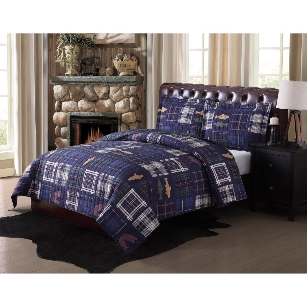 Pem America Remington Morse Brook Mini Quilt Set, King