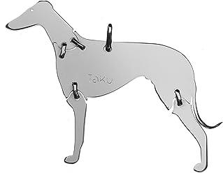 WINDHUND Hunde Tier-Anhänger Medium 925 Sterling Silber Charm Schmuck 054CM