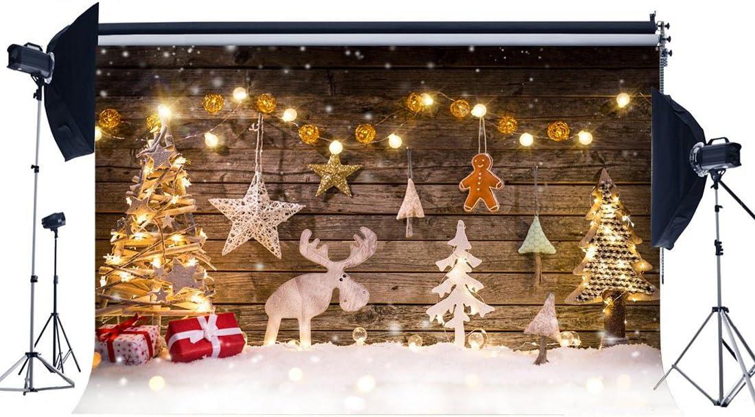 Haosphoto 210 X 150 Cm Weihnachtshintergrund Kamera
