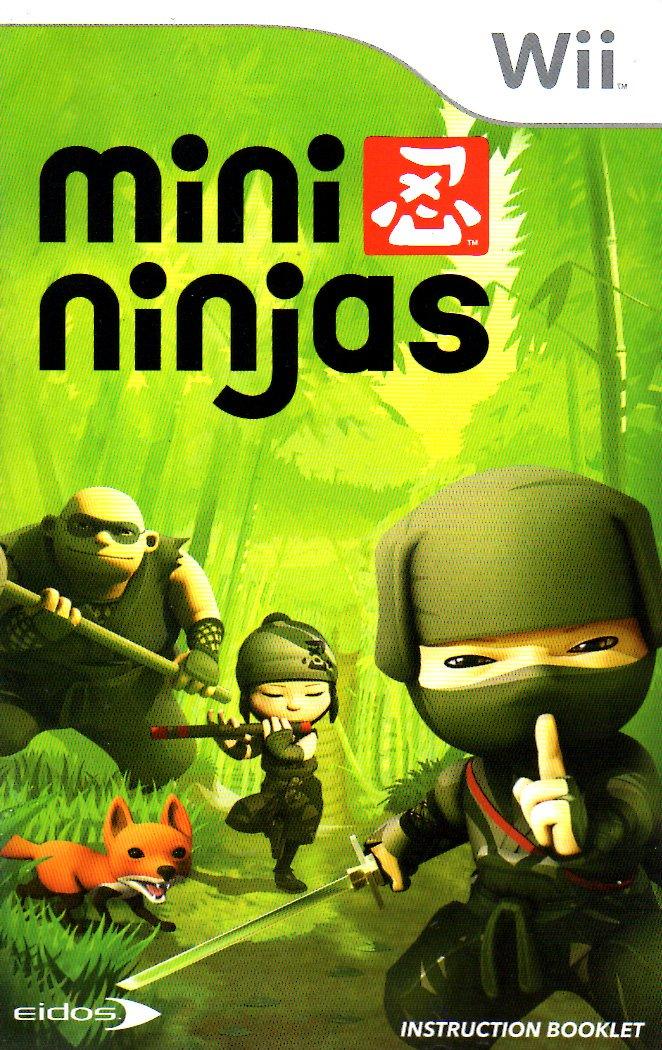 Amazon.com: Mini Ninjas Wii Instruction Booklet (Nintendo ...