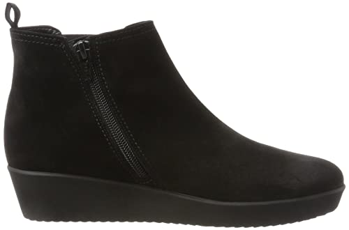 Gabor Shoes Comfort Basic, Bottes Femme, Gris (49 Dark-Grey Micro), 39 EU