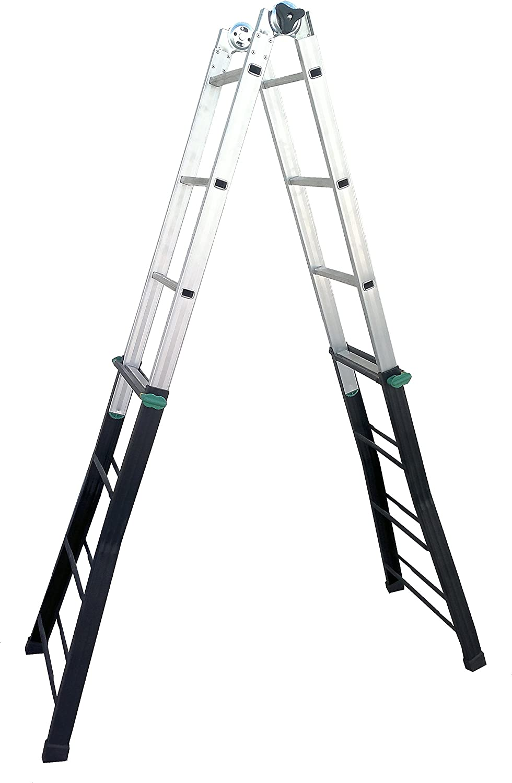 Coamer B-45 Escalera multiposiciones (acero-aluminio): Amazon.es: Bricolaje y herramientas