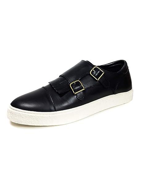 5512302Amazon Con Fibbie Zara Sneakers Due itScarpe Nere Uomo E hQdrstC