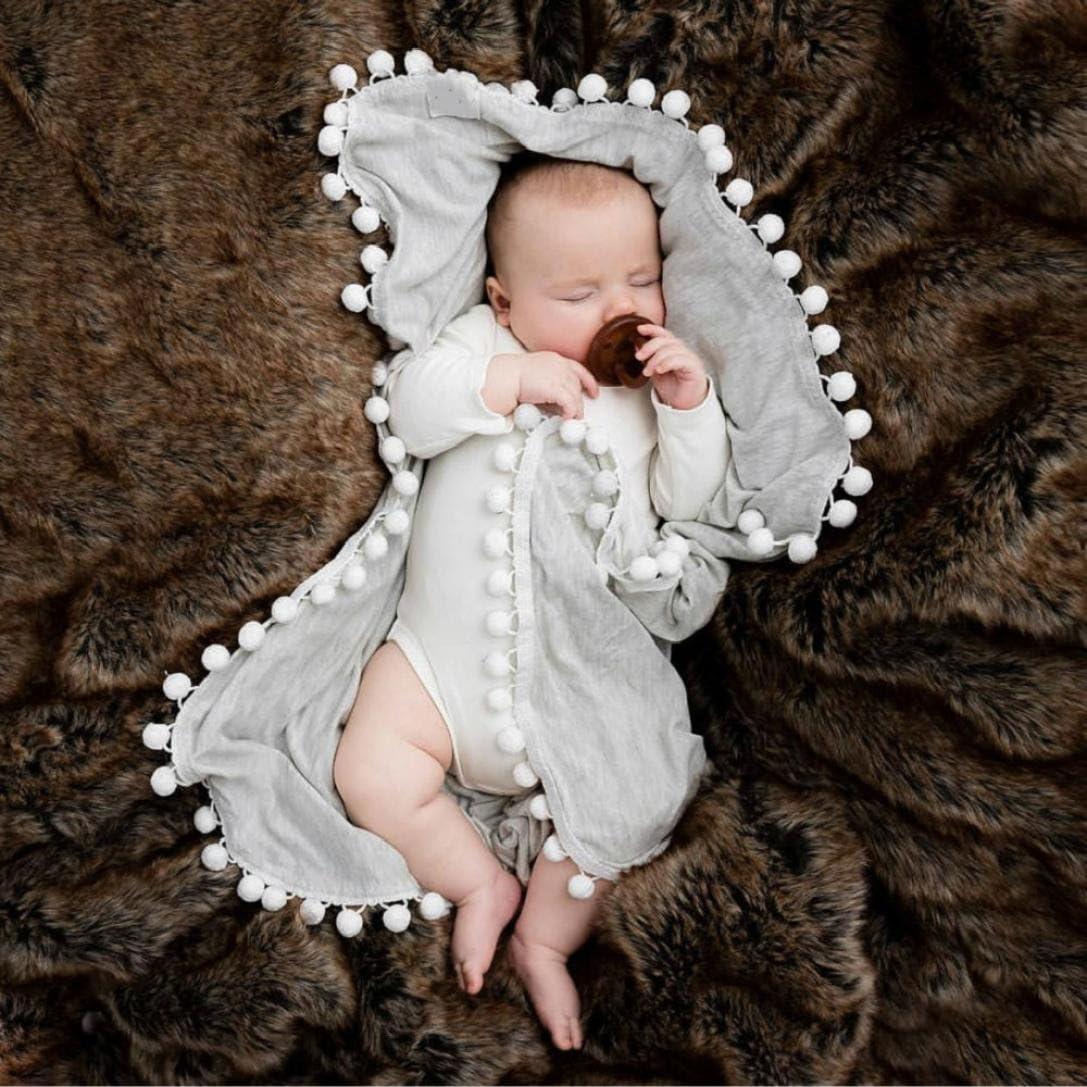 Trada Sommerdecke Neugeborenes Baby Jungen M/ädchen Krippe Abdeckung Decke schlafen Swaddle Kuscheldecke Babydecke Karikatur Pyjamas Schlafsack Baby Kuscheldecke