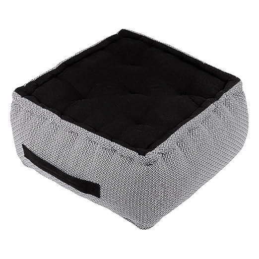 Zen - Cojín de algodón (40 x 40 x 30 cm), diseño de Benín ...