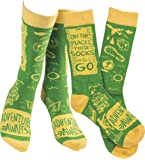 Amazon Price History for:Humorous Quote Socks Primitives by Kathy Unisex Adult One Size Fits Most