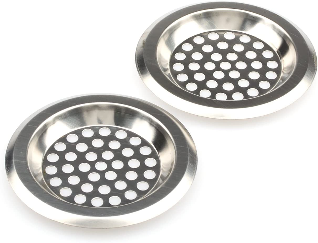 Kitchen And Bathroom Sink Strainer Stainless Steel Bathub Drain Cover Sink Drain Protector Bathroom Sink Drain Strainer Pack Of 2 Amazon Com