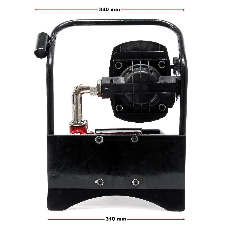 Bio Dieselpumpe Heiz/ölpumpe selbstansaugend 230V//600W 40l//min automatische Pistole Umf/üllpumpe Absau