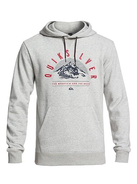 Quiksilver Big Logo - Sudadera técnica con Capucha para Hombre EQYFT03789: Quiksilver: Amazon.es: Ropa y accesorios