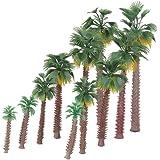 Miniature Palm Trees Fairy Garden Landscape Bonsai Decor Pack of 12